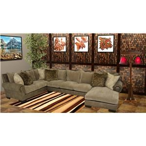 Reeds Trading Company 3000 3 Piece Sectional