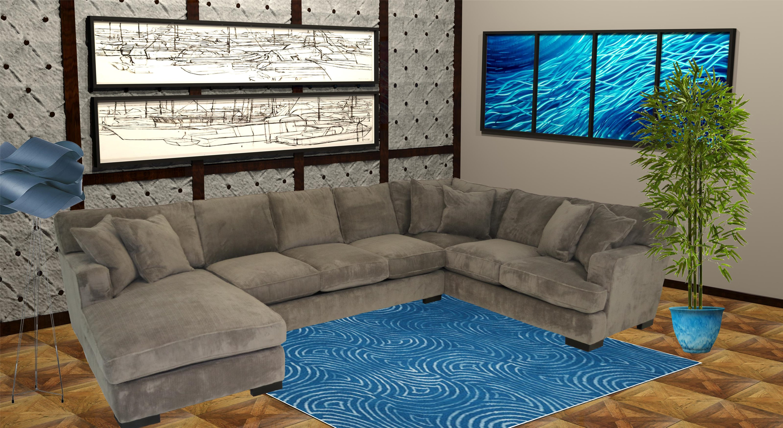 track arm 3 piece sectional sofa reeds furniture sectio