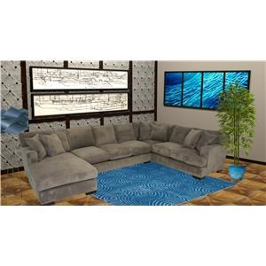 Reeds Trading Company 4000 3 Piece Sectional