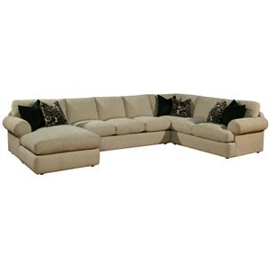 Robert michael fifth ave chaise and sofa sectional for Furniture 5th avenue