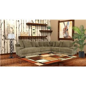 Reeds Trading Company 300 3 Piece Sectional
