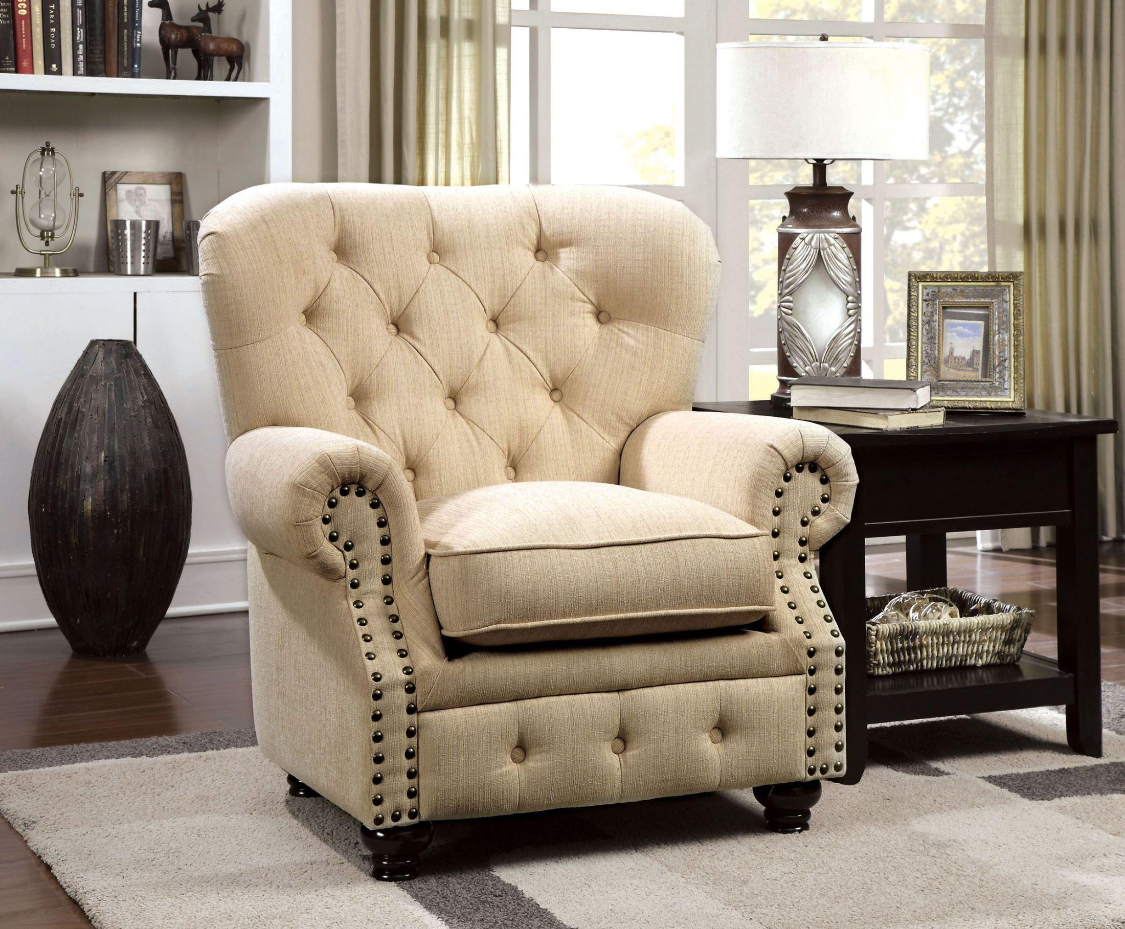 Furniture of America / Import Direct Stanford Chair - Item Number: CM6269IV-CH