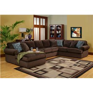 Robert Michael Scottsdale 4 pc Sectional with LAF Chaise