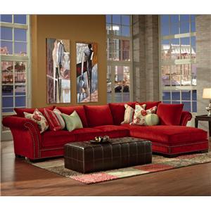 Robert Michael Tara  Sectional Sofa