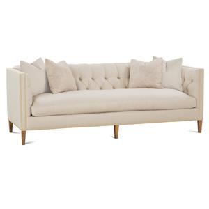 Robin Bruce Brette Tuxedo Arm Sofa