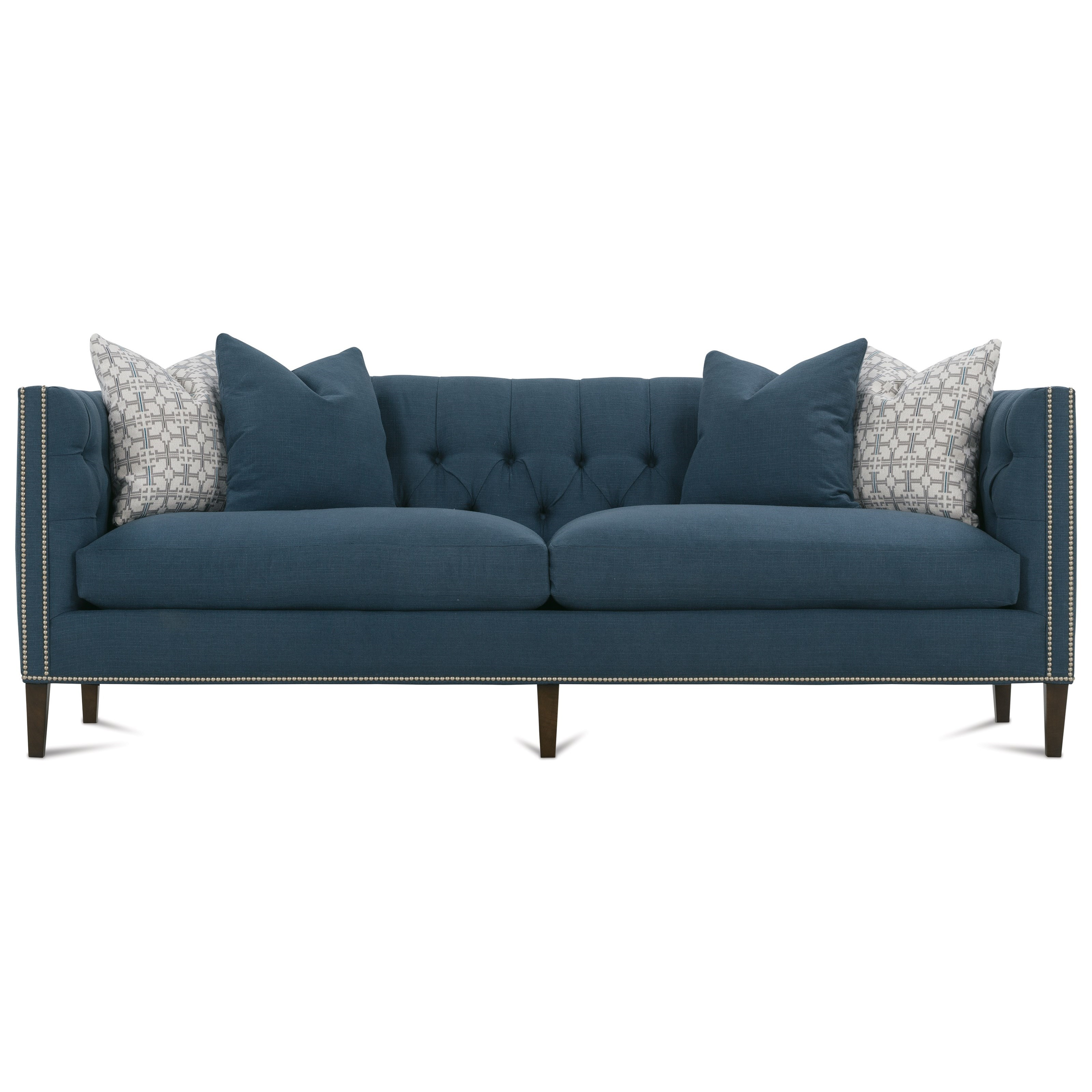 Brette 2 Cushion Sofa by Robin Bruce at Saugerties Furniture Mart