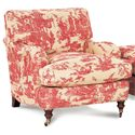 Robin Bruce Brooke Chair with Castered Turned Feet - BROOKE-CHR