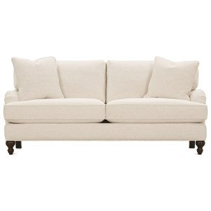 Brooke Sofa with Castered Turned Feet by Robin Bruce
