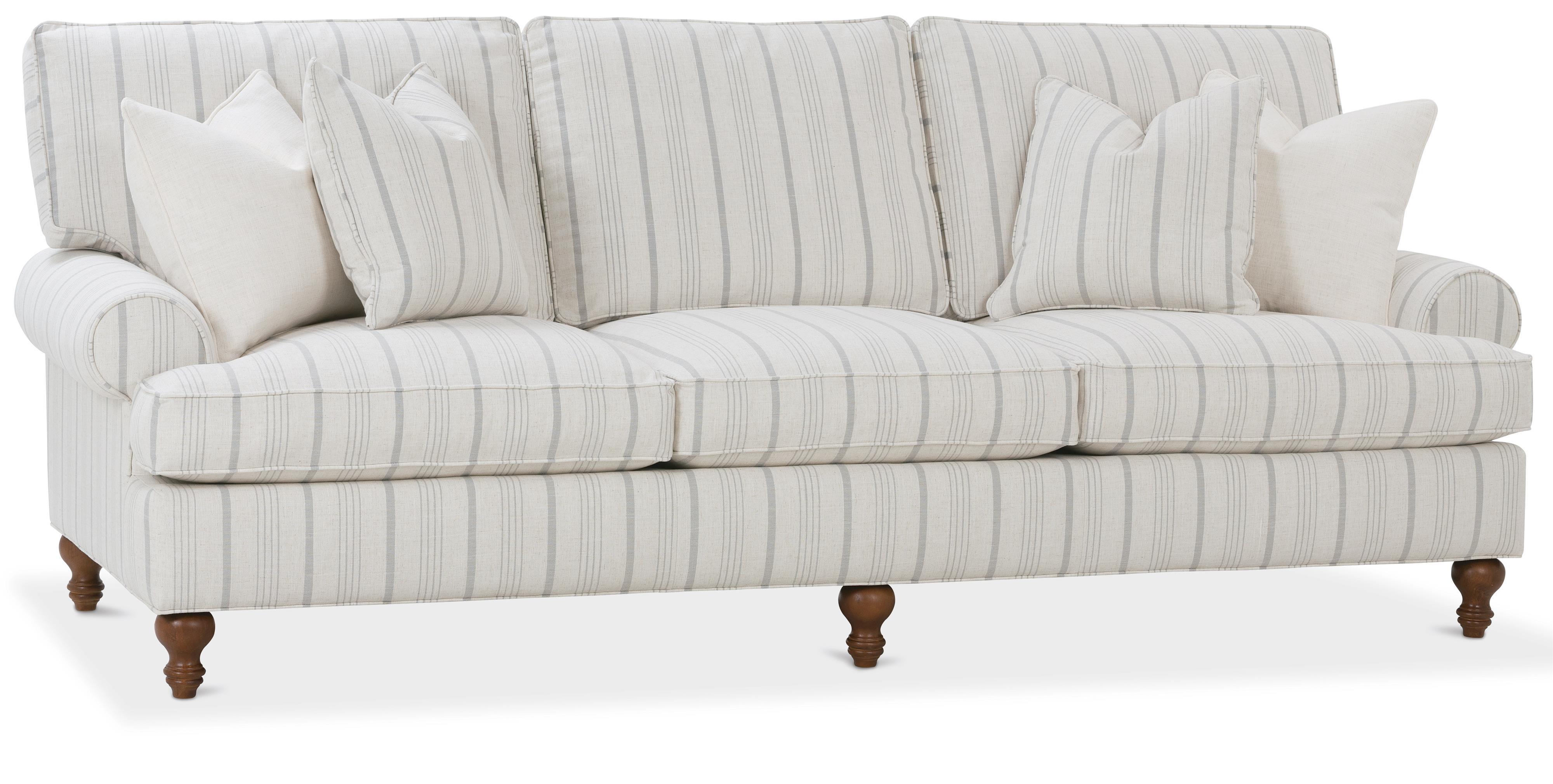Traditional Three Seat Sofa