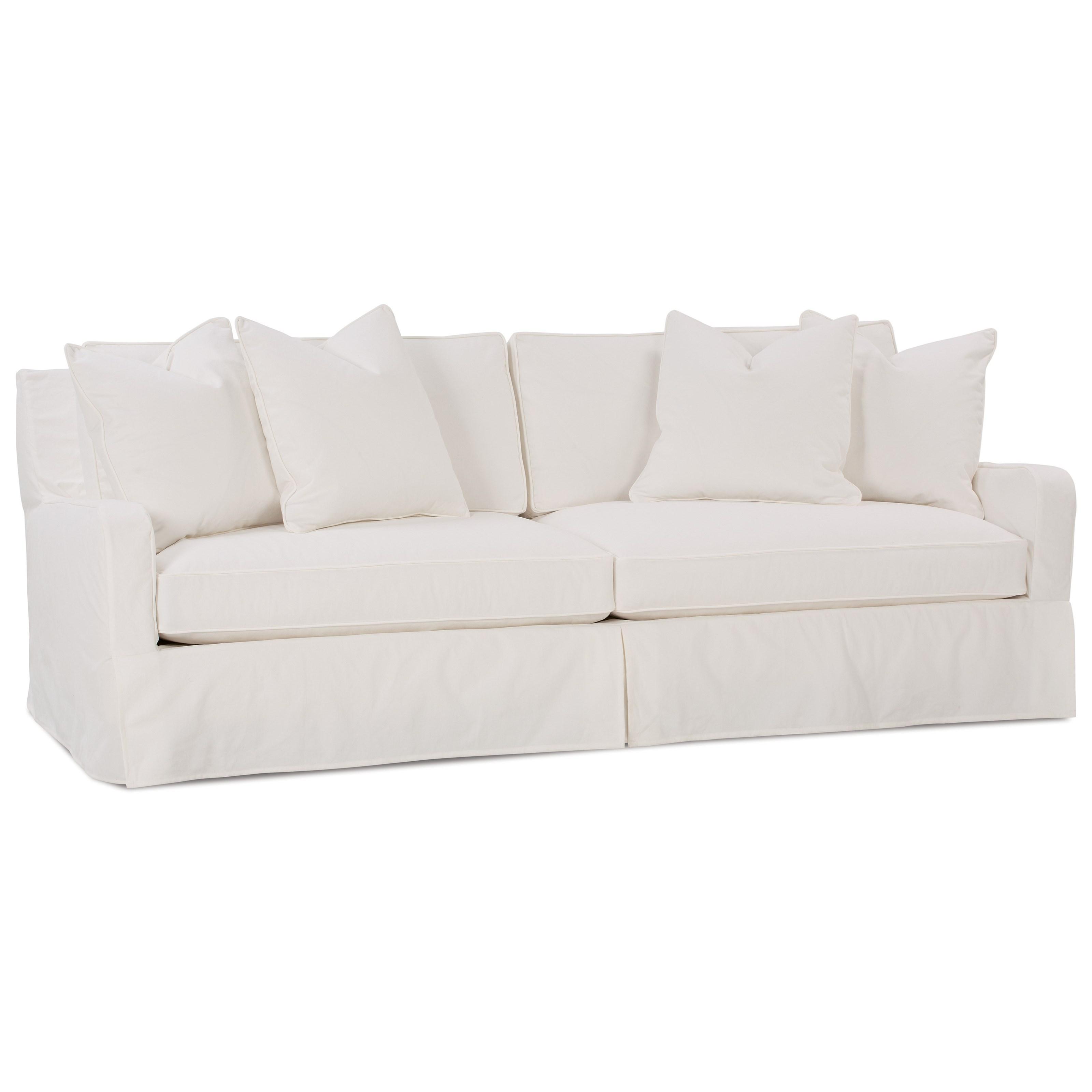 Robin Bruce Havens Casual Sofa With Slipcover Sprintz