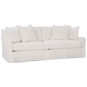 Havens Casual Sofa with Slipcover by Robin Bruce