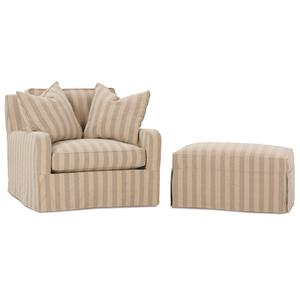 Robin Bruce Havens Chair and Ottoman Set