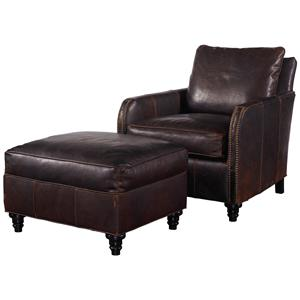 Robin Bruce Hayes Chair and Ottoman