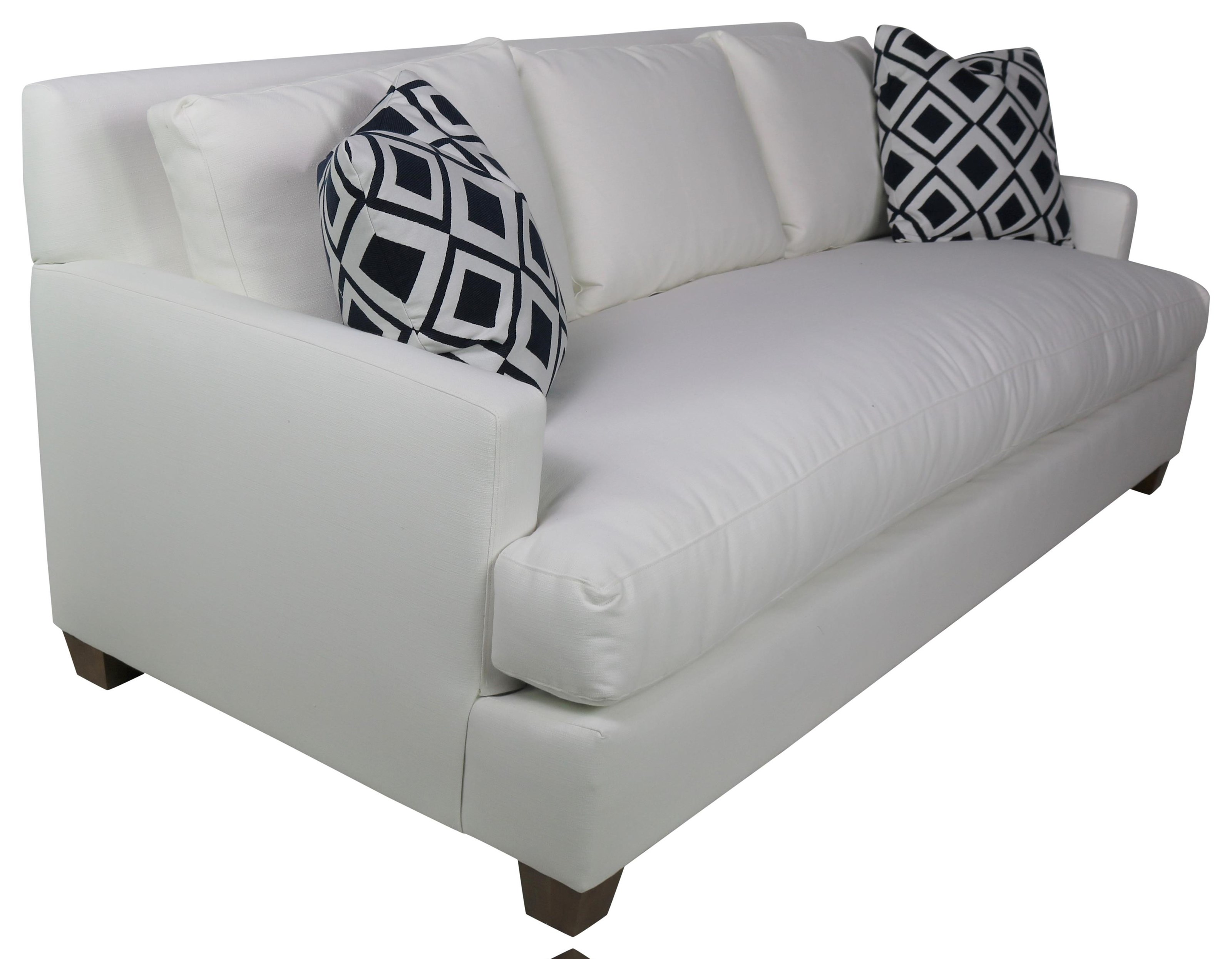 Robin Bruce Laney Transitional 92 Sofa With Bench Seat Sprintz Furniture Sofas