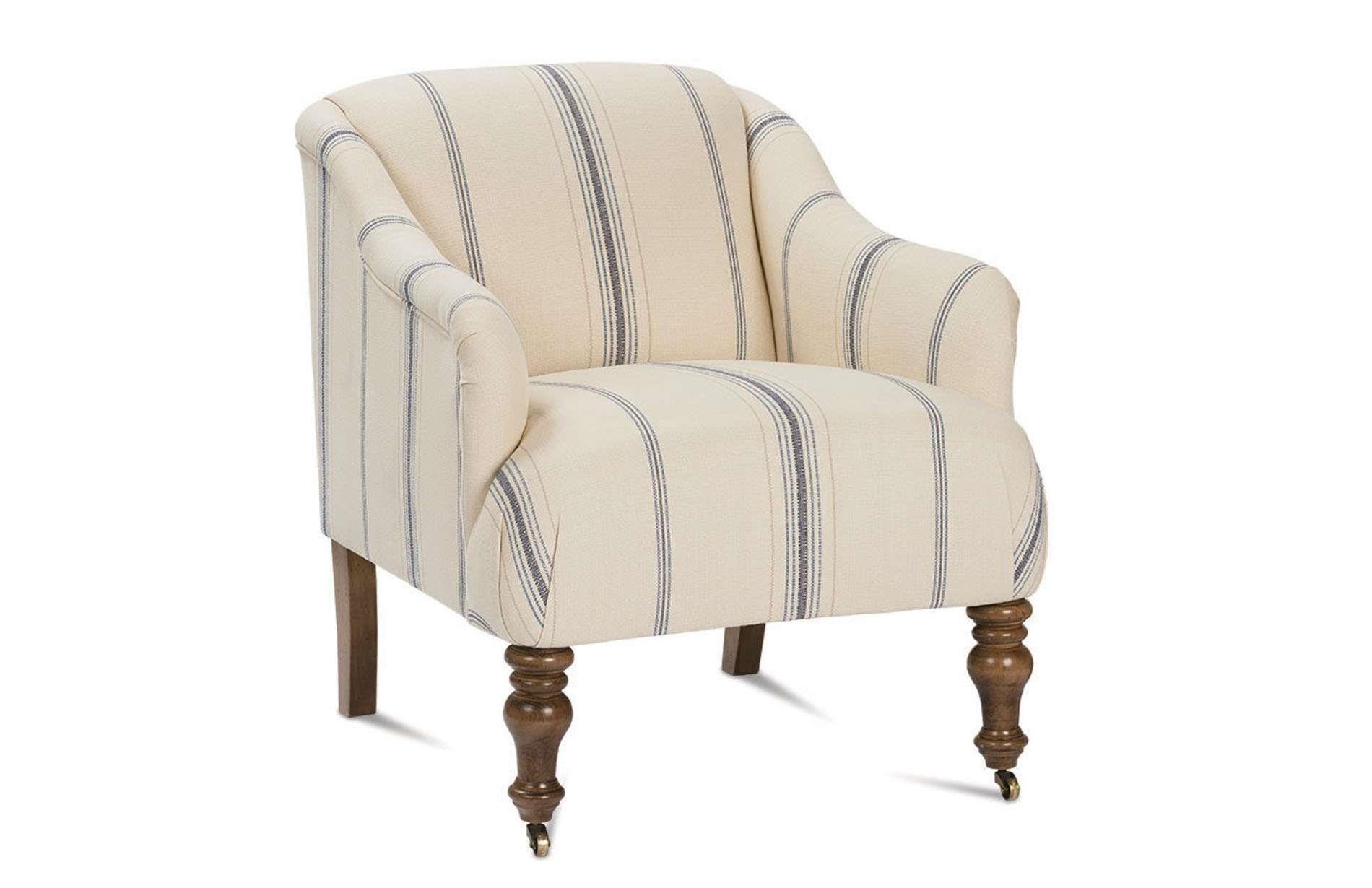 Robin Bruce Mackenzie Upholstered Chair - Item Number: Mackenzie-006