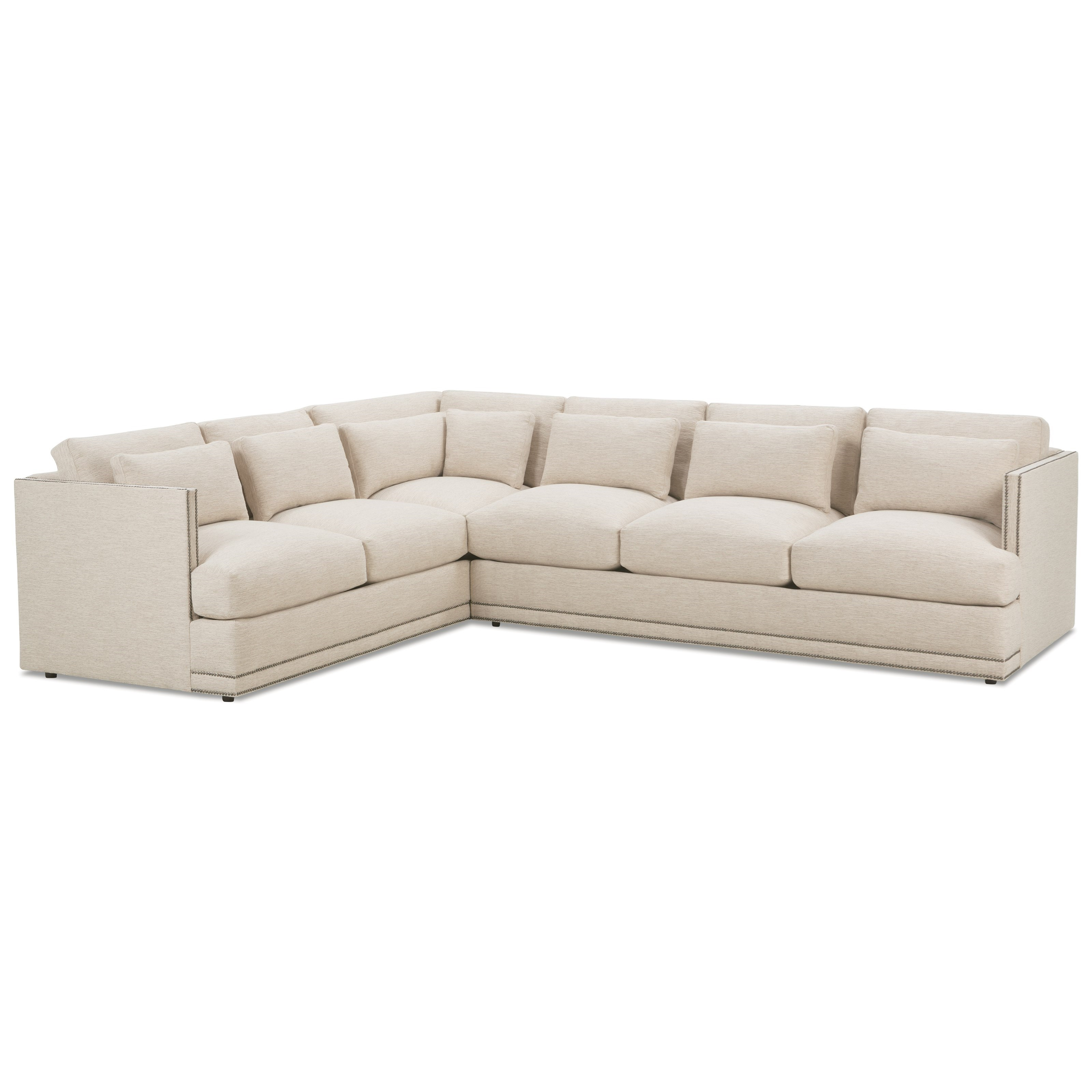 Oscar Contemporary Sectional Sofa Group By Robin Bruce At Reeds Furniture