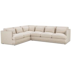 FB Home Oscar Sectional Sofa Group