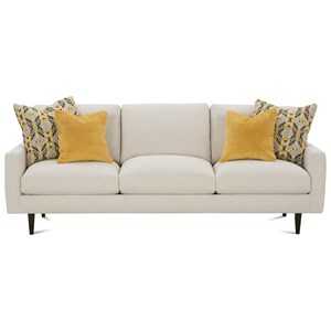 Robin Bruce Oslo Contemporary Stationary Sofa