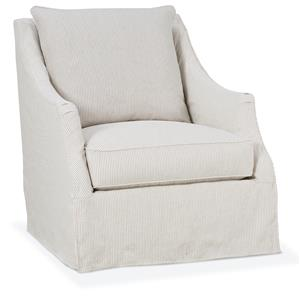 RB by Rowe Accent Chairs Kate Slipcover Chair