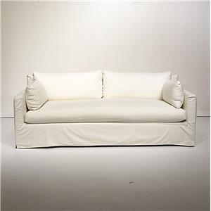Slip Covered Sofa