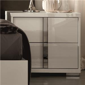 Alf Italia Imperia Nightstand Left Hand Side