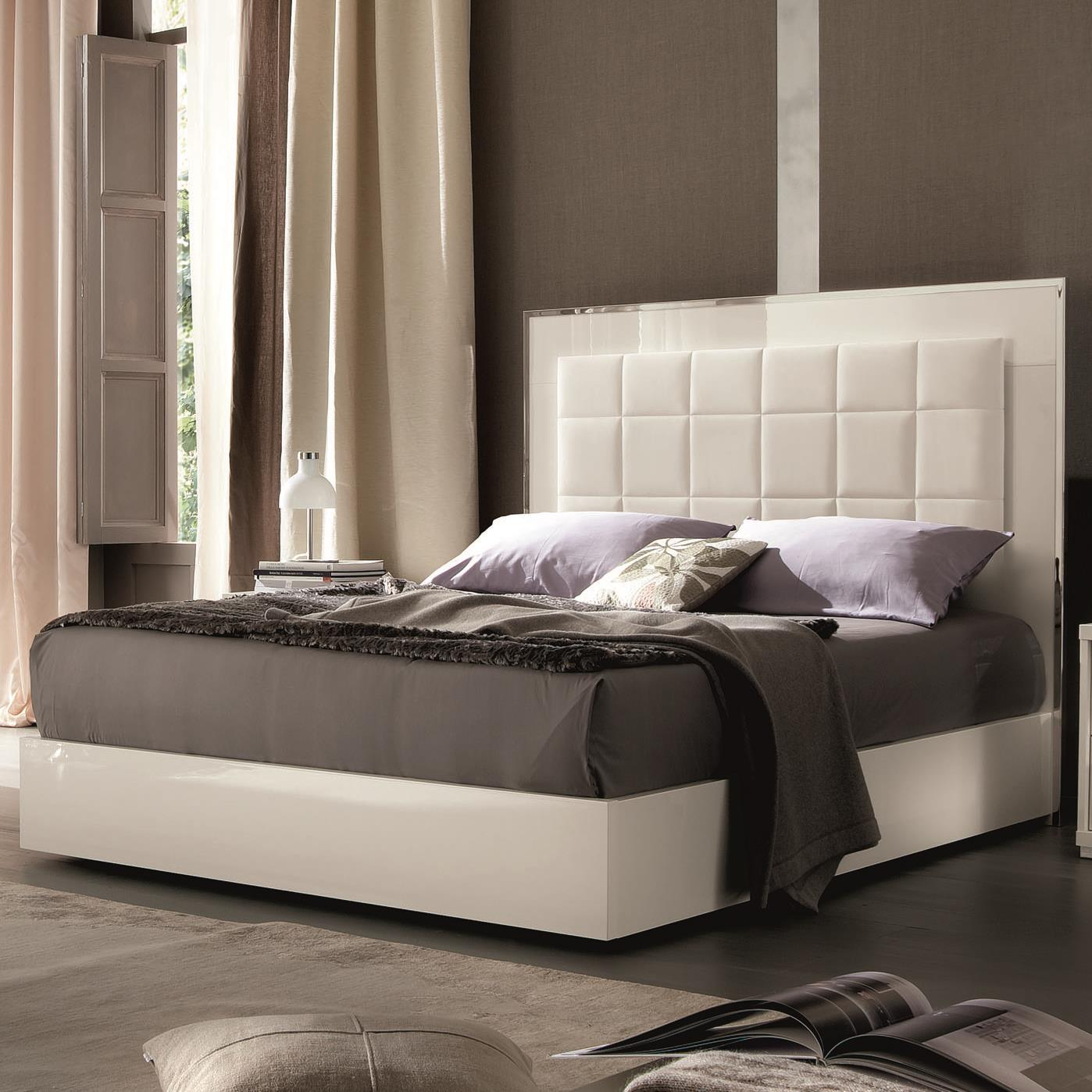 Imperia King Upholstered Bed w/ Storage Footboard by Alf Italia at Stoney Creek Furniture