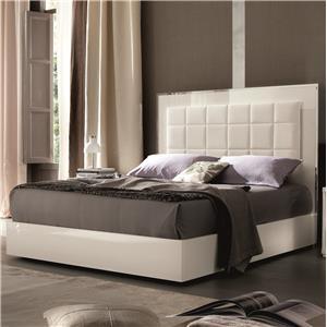 Alf Italia Imperia Queen Upholstered Bed