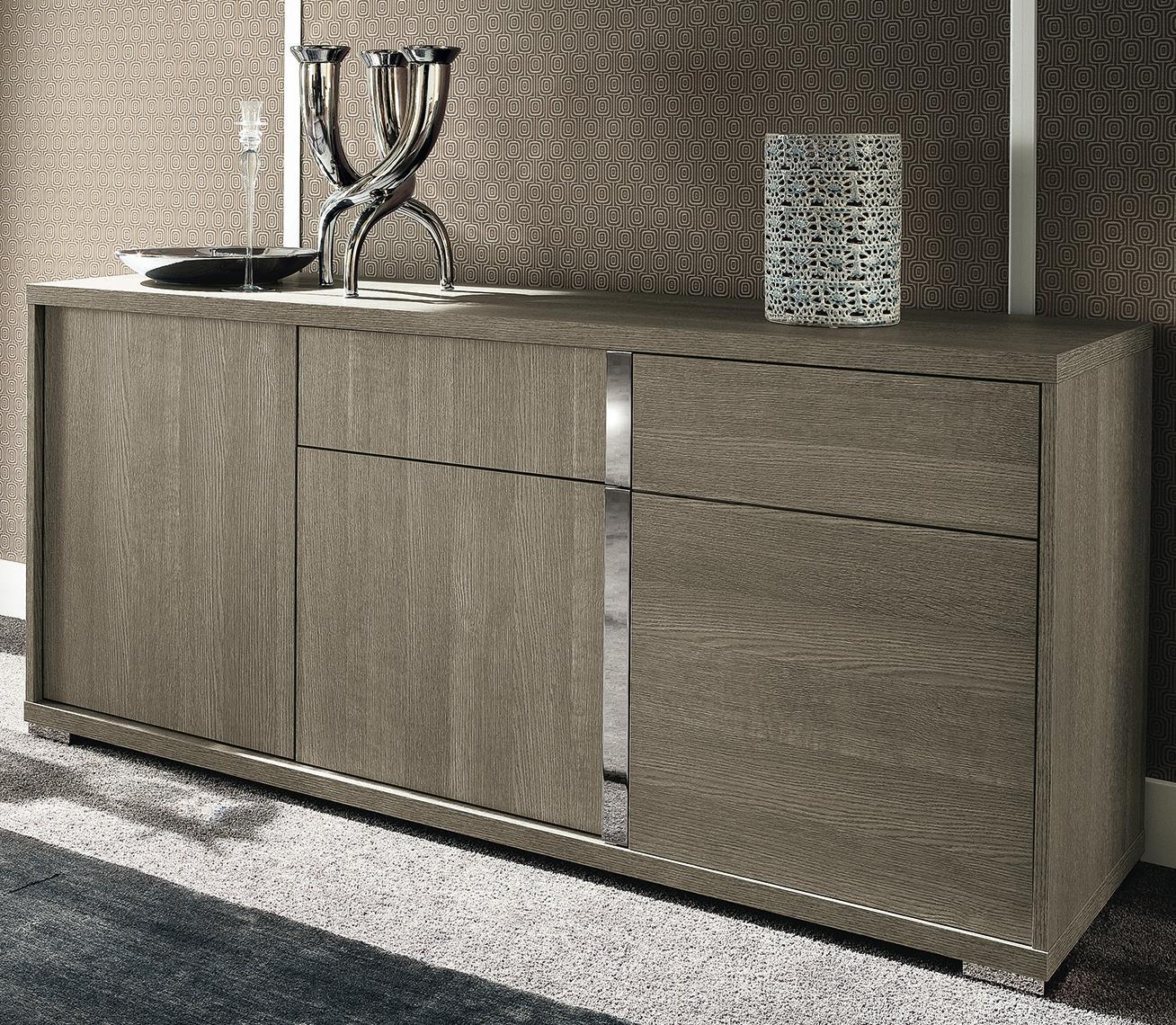 844434bc32 Alf Italia Tivoli KJTI610GR Contemporary Weathered Grey Three Door Buffet |  Corner Furniture | Buffets