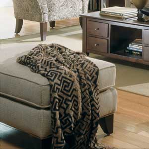 Rowe Notting Hill Transitional Ottoman