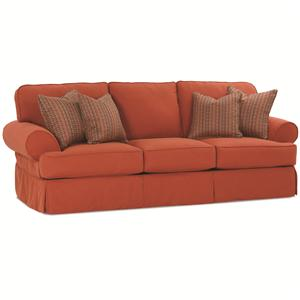 Rowe Addison  Traditional 3 Seat Sofa With Slipcover