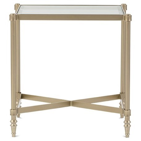 Allure End Table by Rowe at Steger's Furniture