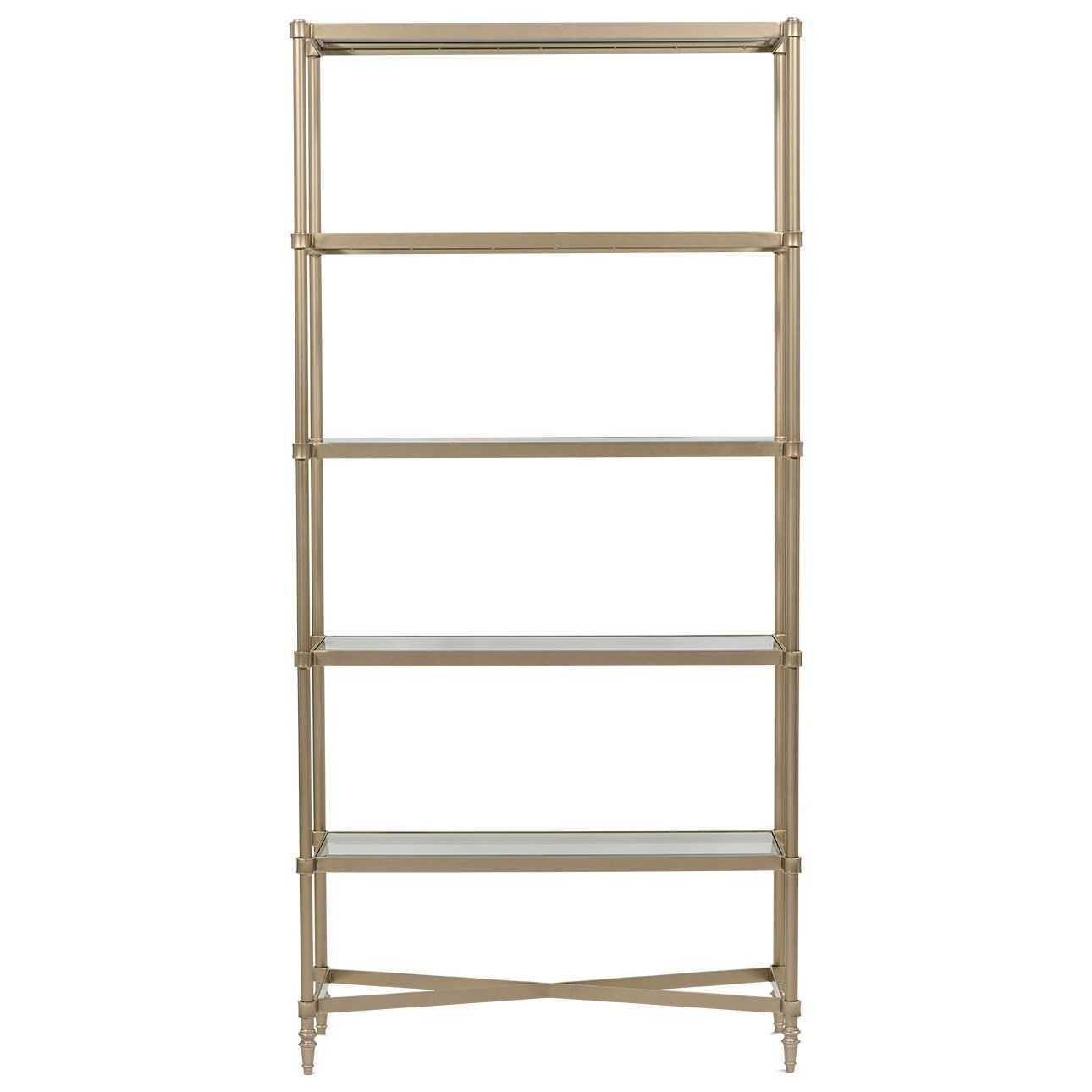 Allure Etagere by Rowe at Baer's Furniture