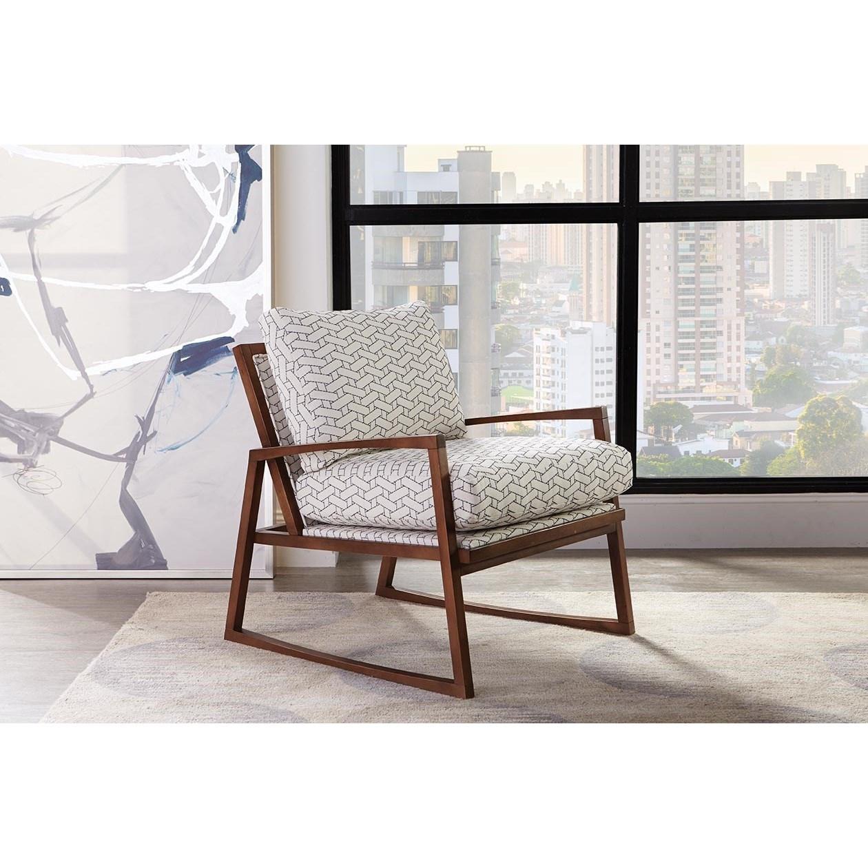 Beckett Modern Chair by Rowe at Baer's Furniture