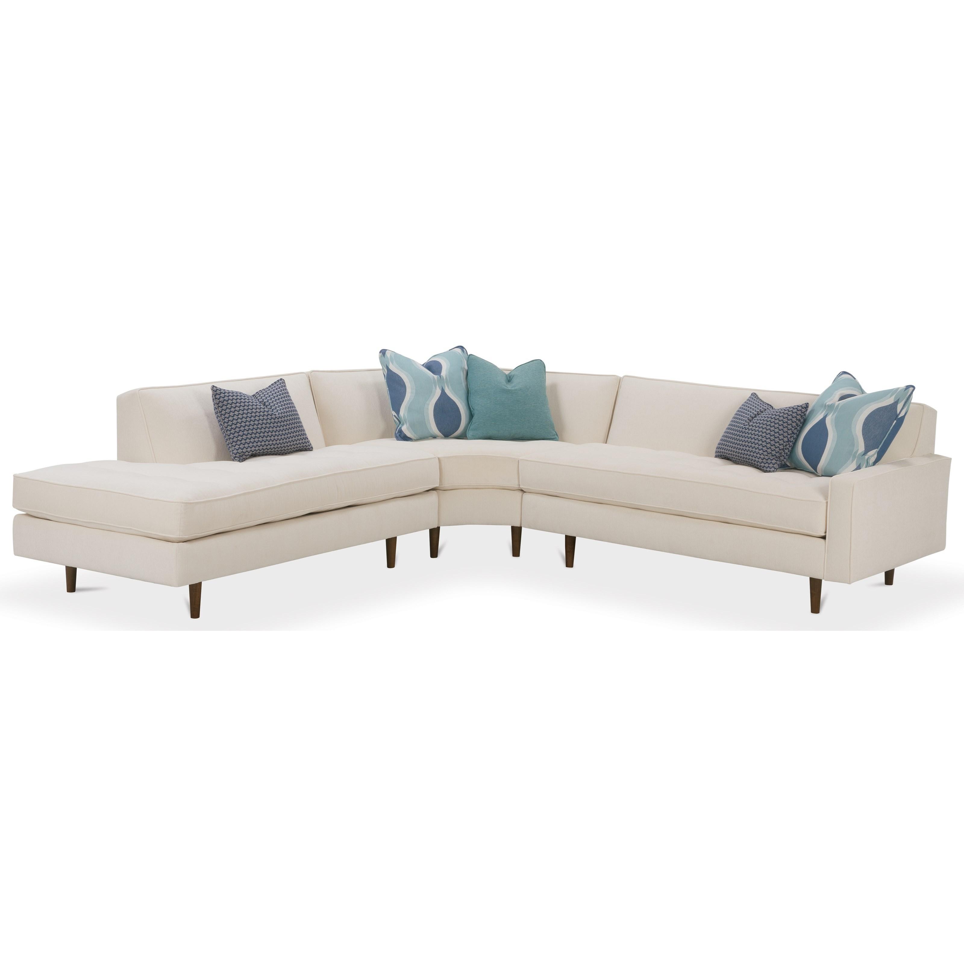 Contemporary 3 Piece Sectional Sofa