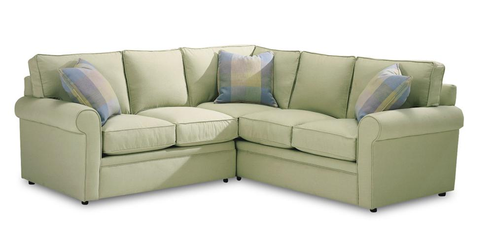 Rowe Brentwood Rolled Arm Sectional Sofa   AHFA   Sofa Sectional Dealer  Locator