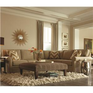 Rowe Brentwood Sectional : rowe townsend sectional - Sectionals, Sofas & Couches