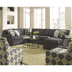 Superieur Rowe Brentwood Transitional Sectional Sofa With Chaise