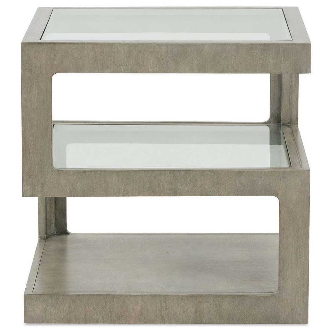 Britta 10350 End Table by Rowe at Baer's Furniture