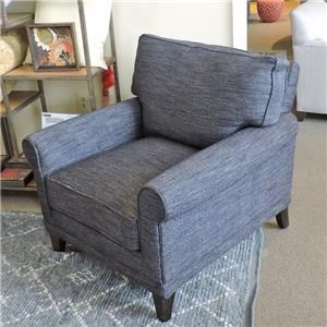 Rowe My Style I Accent Chair w/ Rolled Arms