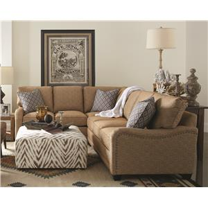 Rowe My Style Traditional Sectional Sofa