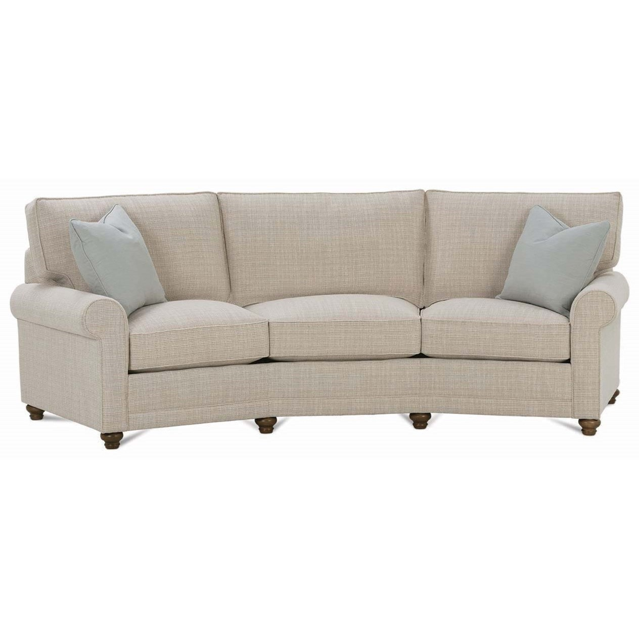 My Style I Customizable Conversation Sofa by Rowe at Baer's Furniture
