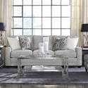 Rowe My Style Contemporary 3 Seat Sofa with Track Arms
