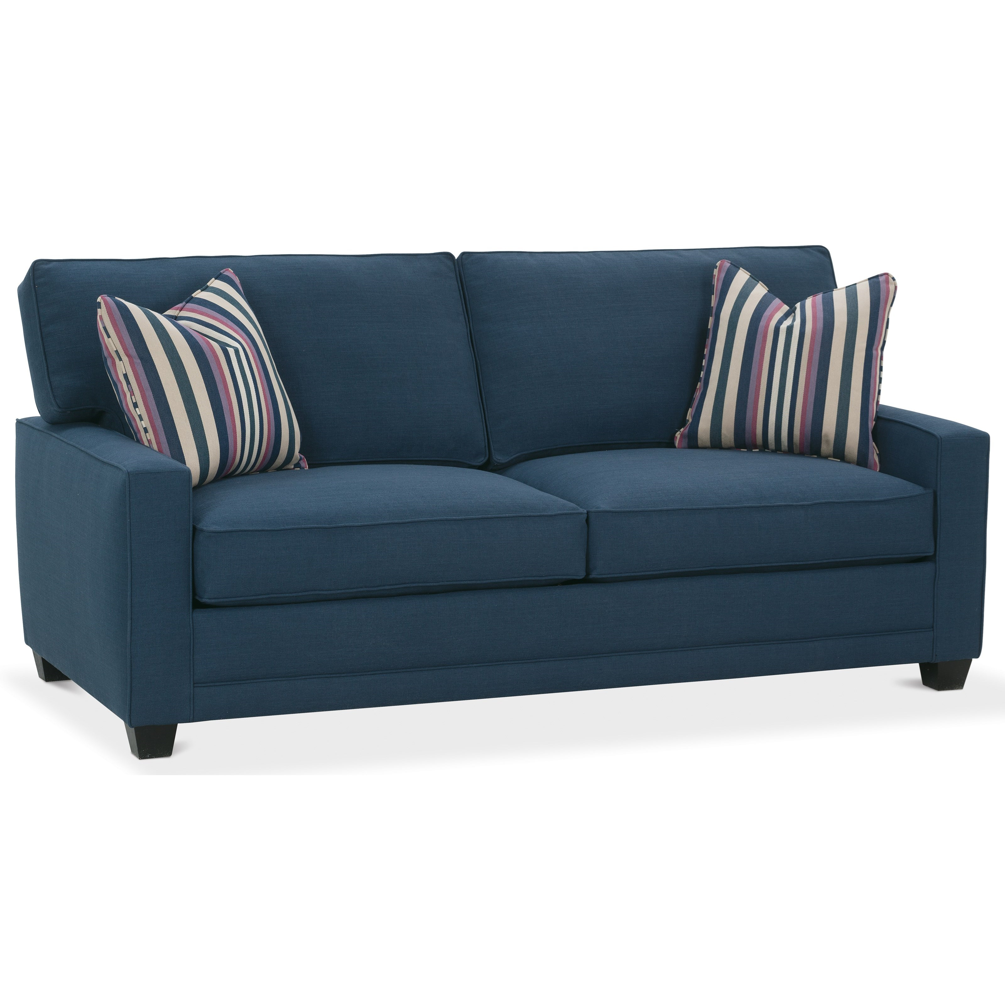 Rowe My Style I Customizable 2 Seat Sofa With Track Arms