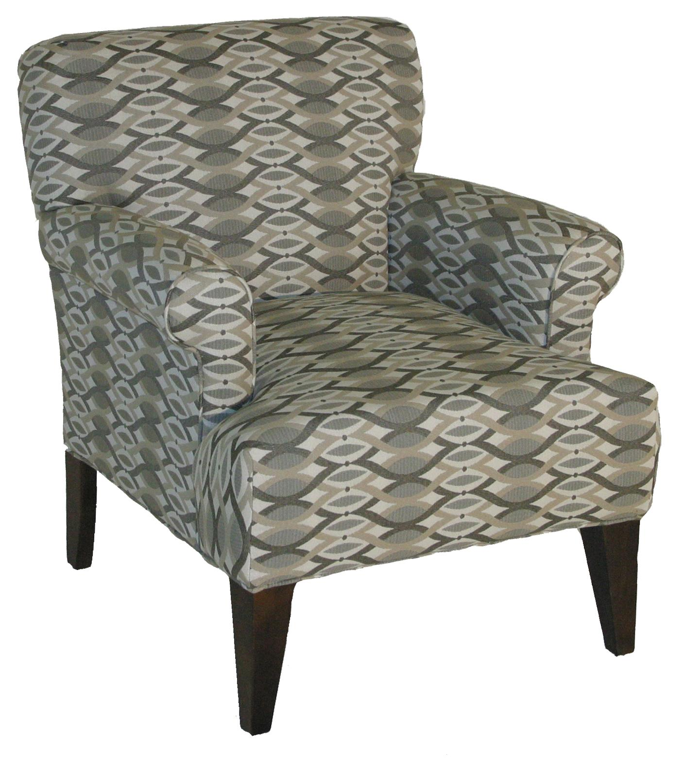 Rowe Chairs and Accents Roma Upholstered Chair - Item Number: 556 17519-75