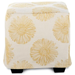 Rowe Chairs and Accents Le Parc Slipcover Ottoman