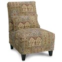 Rowe Chairs and Accents Broadway Armless Accent Chair