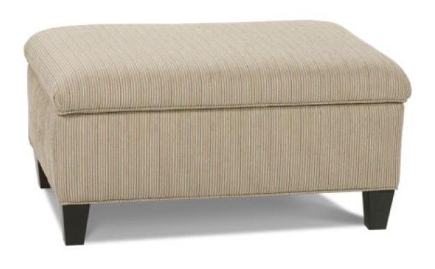 Rowe Chairs and Accents Hess Ottoman - Item Number: F33-000 X43179-10