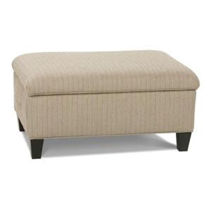 Rowe Chairs and Accents Hess Ottoman