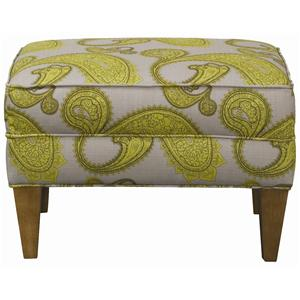 Rowe Chairs and Accents Willet Ottoman