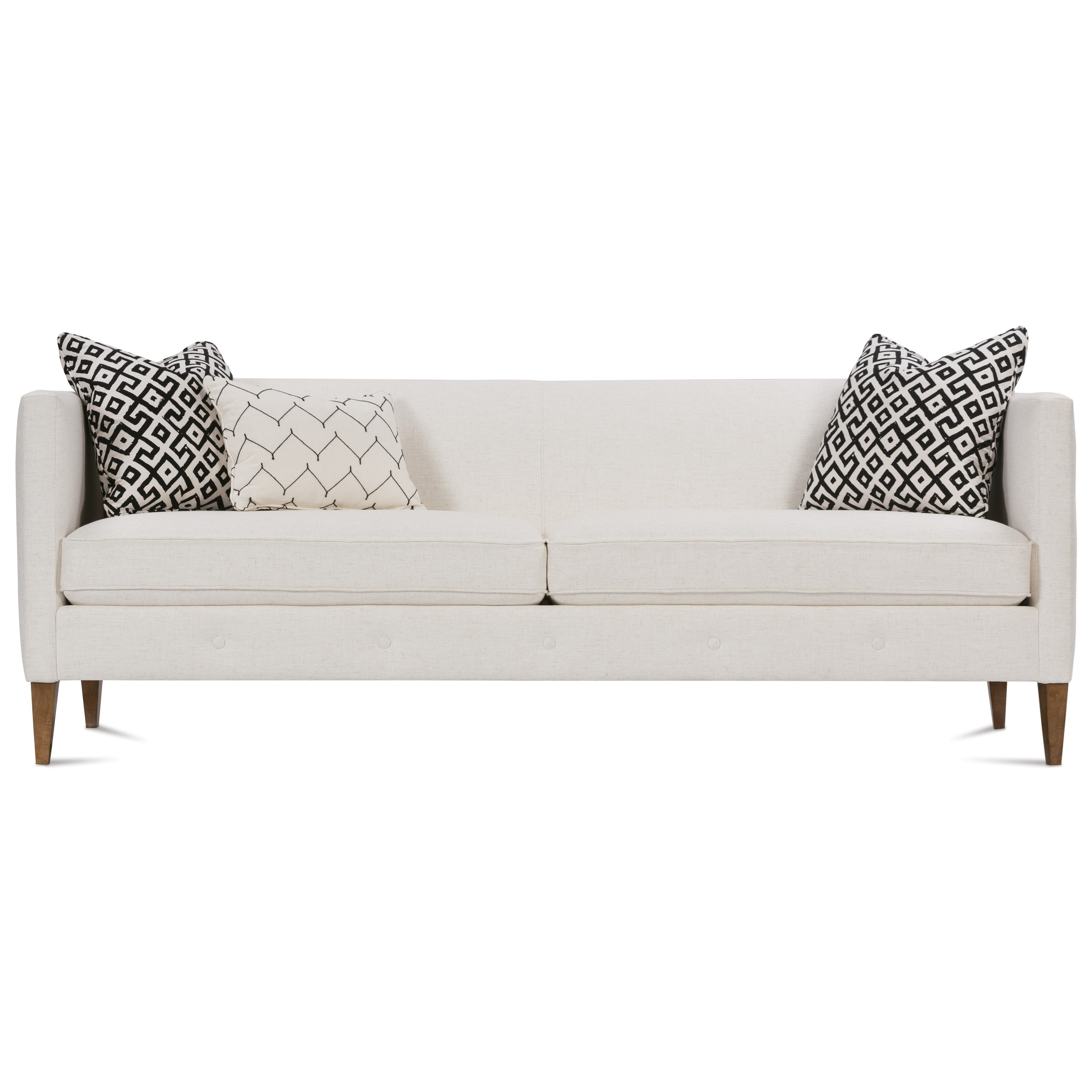 "Claire  86"" Contemporary Sofa by Rowe at Saugerties Furniture Mart"